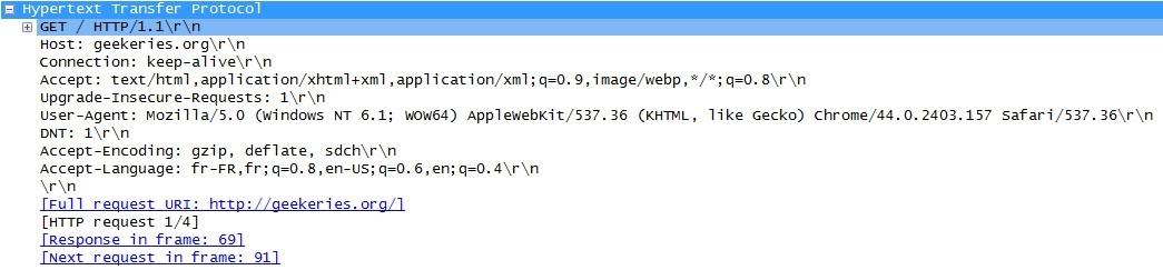 Requête HTTP - GET