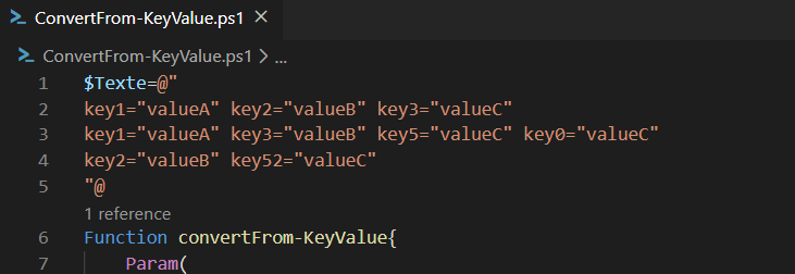 Key=Value en Regex